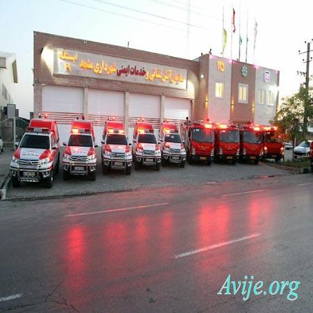 شرایط ثبت نام امریه آتش نشانی مشهد